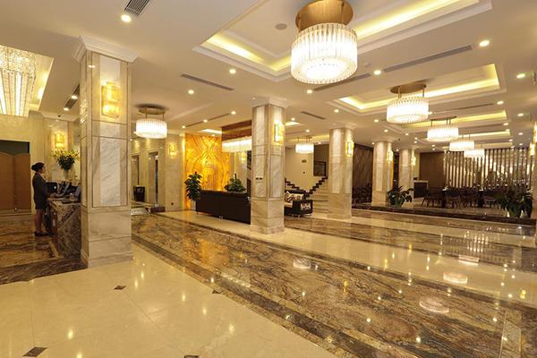 Đèn trang trí khách sạn không cần quá chú trọng đến cường độ sáng