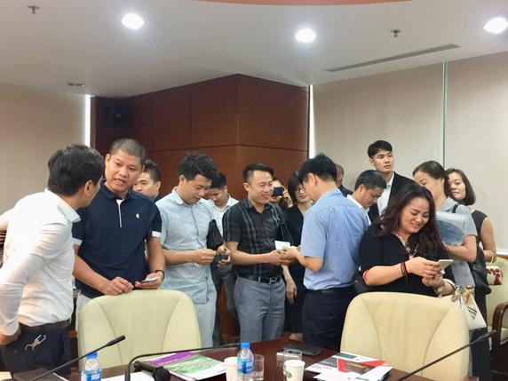 An Phước tham dự buổi XTTM liên kết hợp tác cùng phát triển của Hanoisme